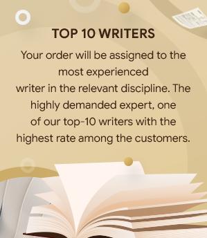 Top Ten Writers