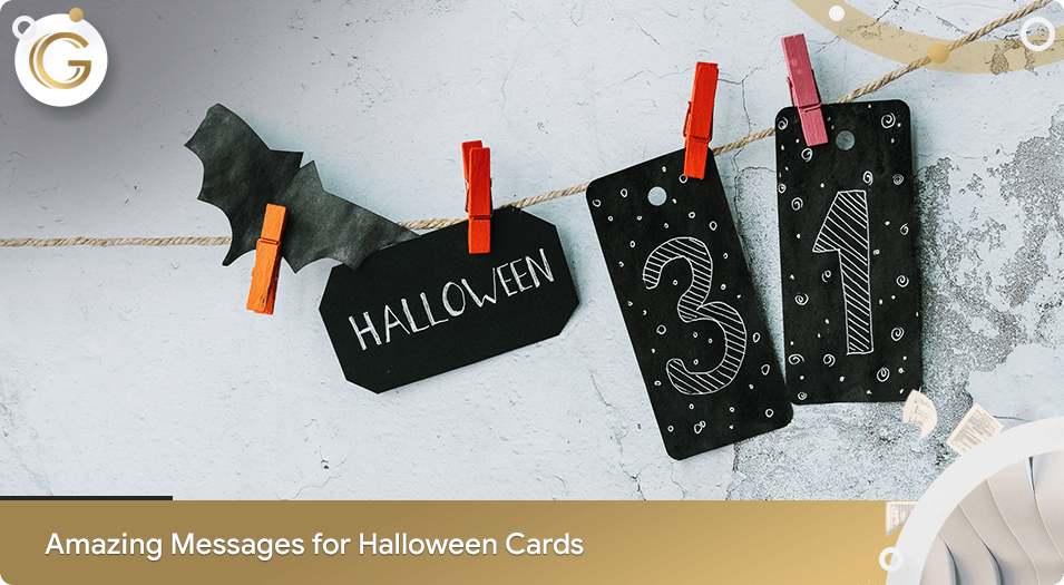 Messages for Halloween Cards