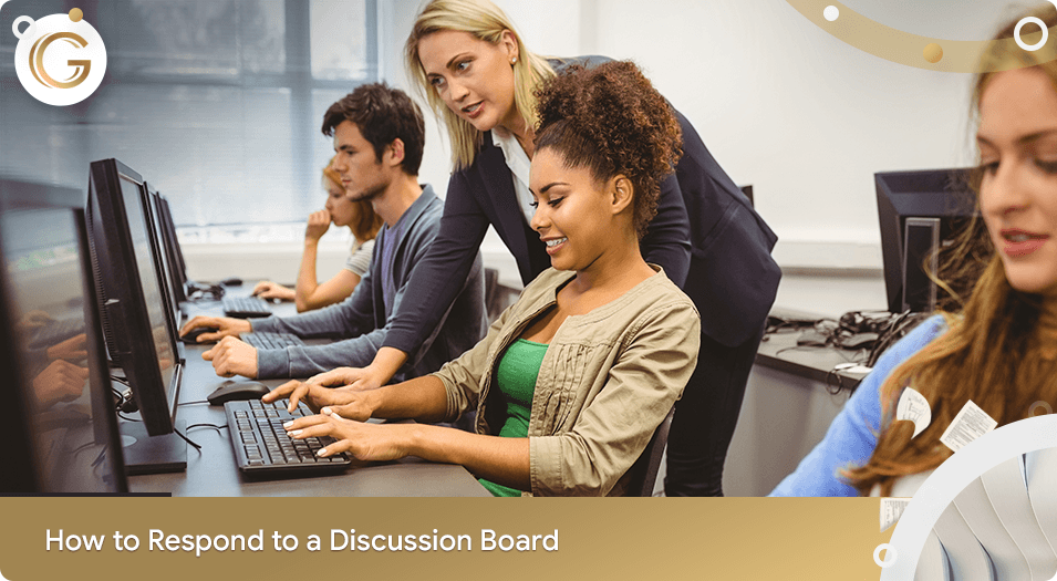 How to Respond to a Discussion Board Post