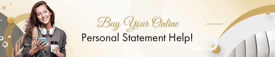 Buy Online Personal Statement Help