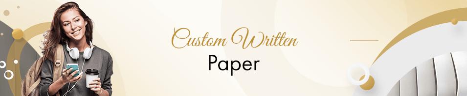 Custom Written Paper