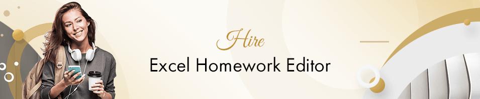 Excel Homework Help Online