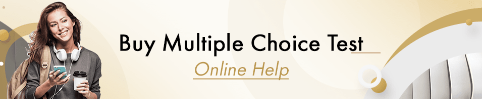 Buy Multiple Choice Test Online Help